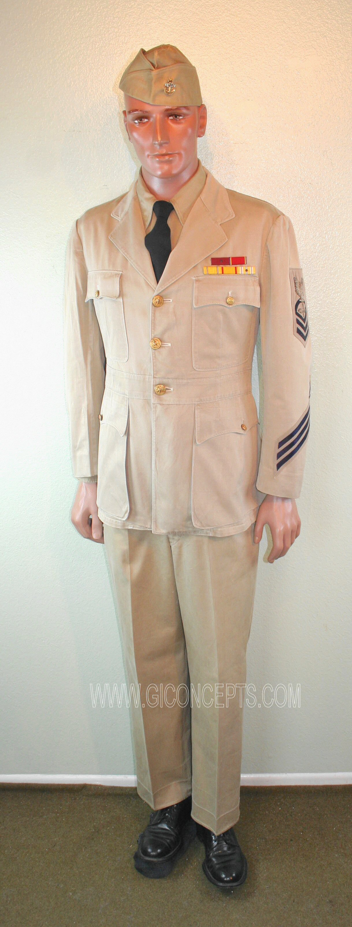 US Navy Chief Aviation Machinists Mate 1944