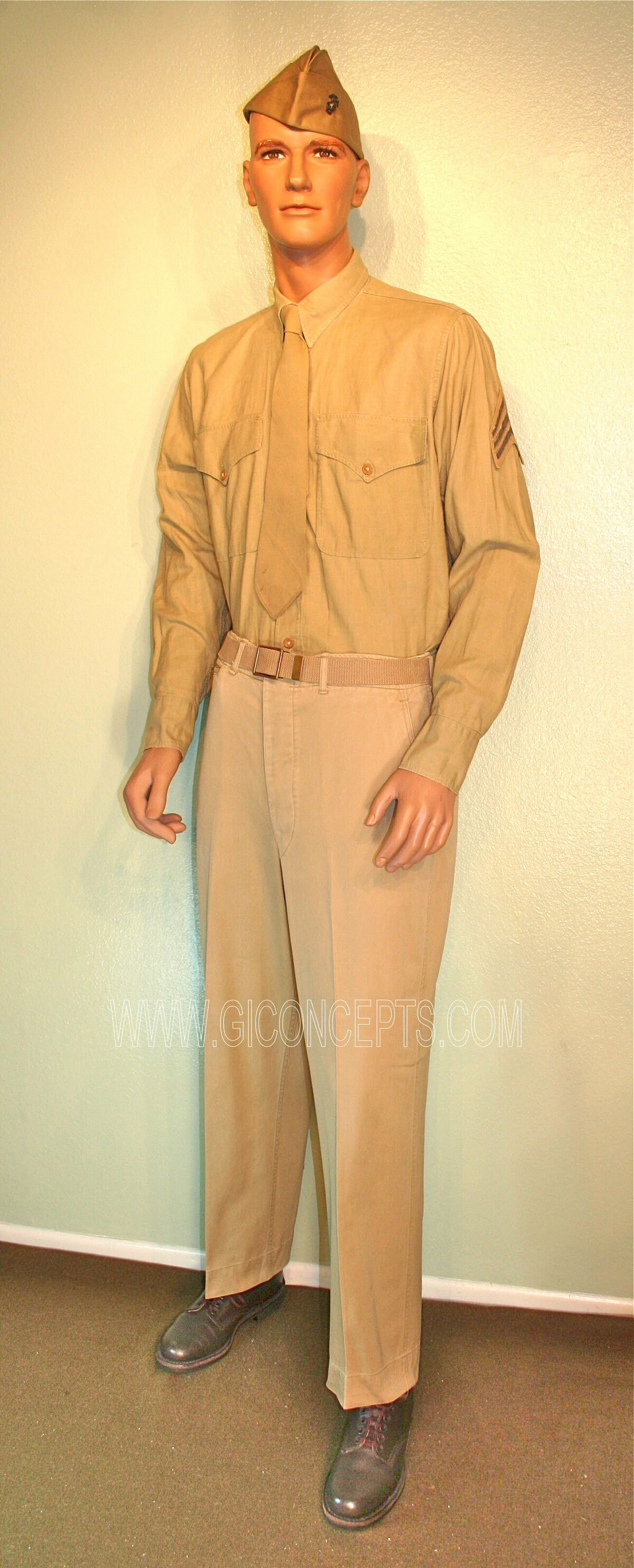 USMC Enlisted Khaki Uniform
