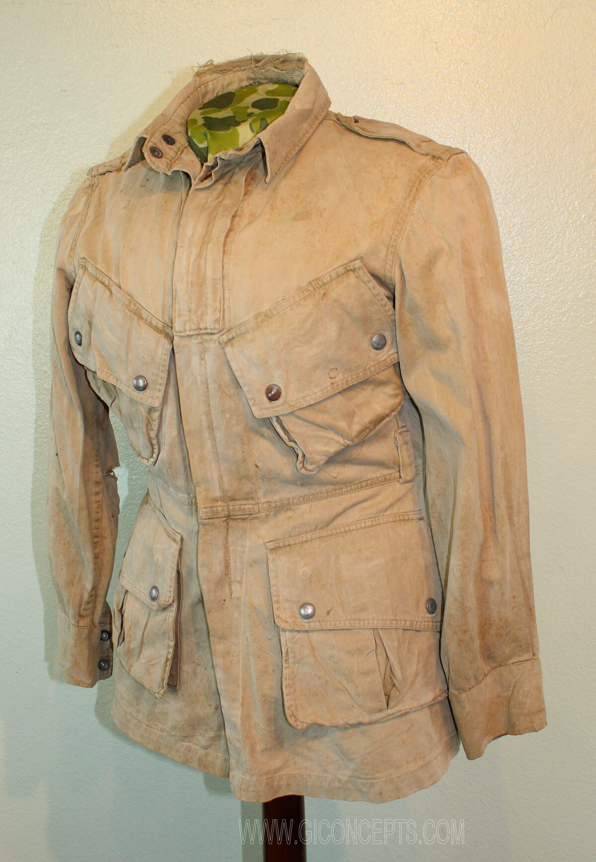 11th Airborne M42 Paratrooper Jacket