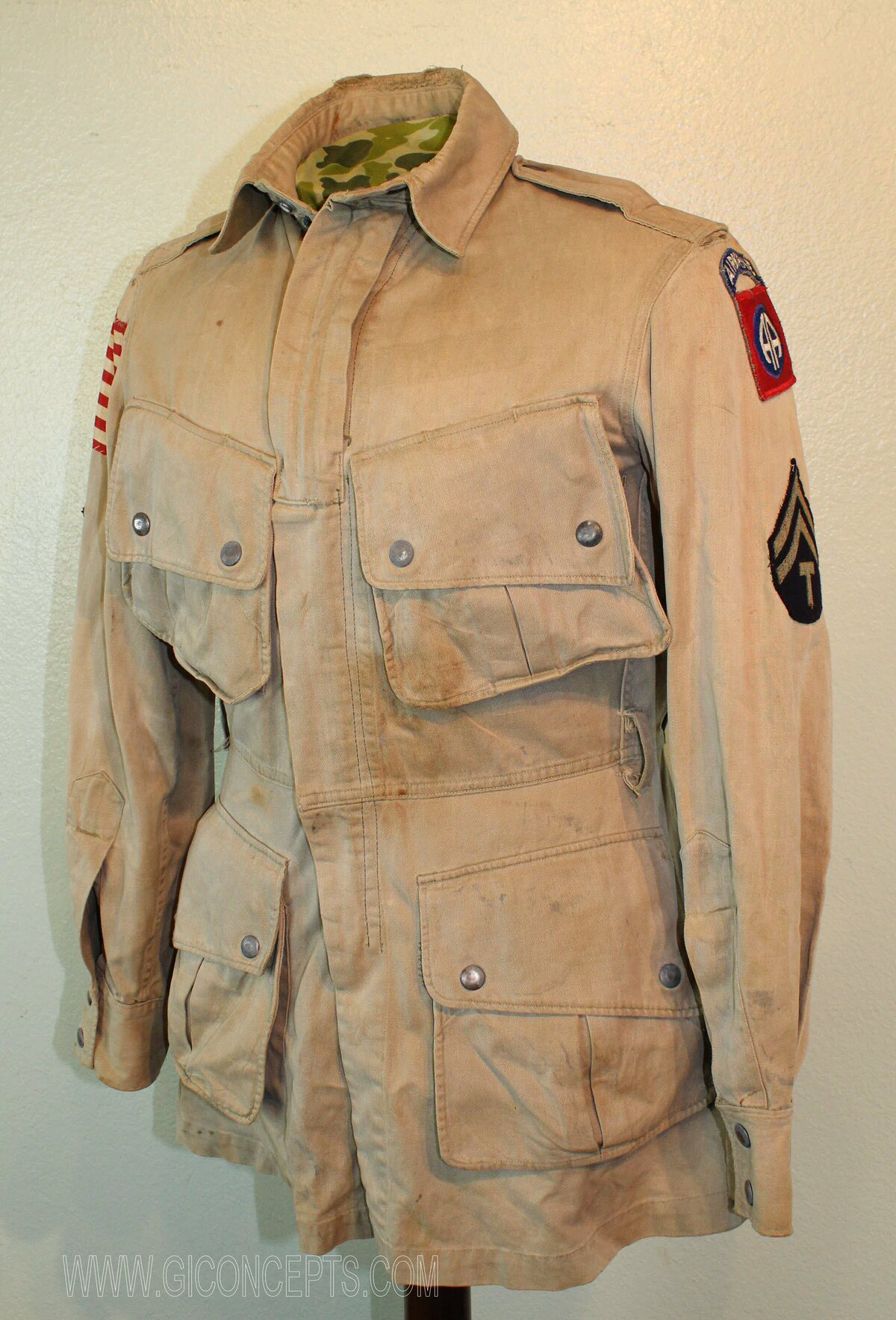 82nd Airborne T-5 M42 Paratrooper Jacket