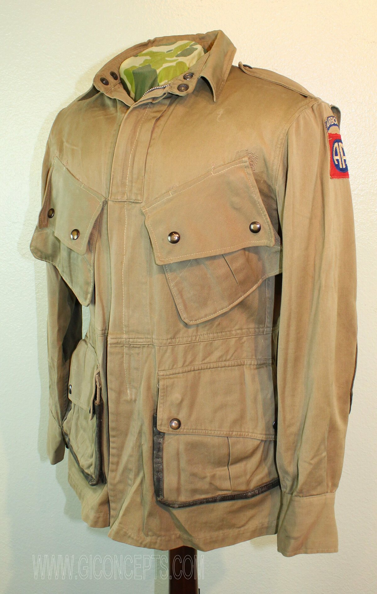 82nd Airborne Reinforced M42 Paratrooper Jacket
