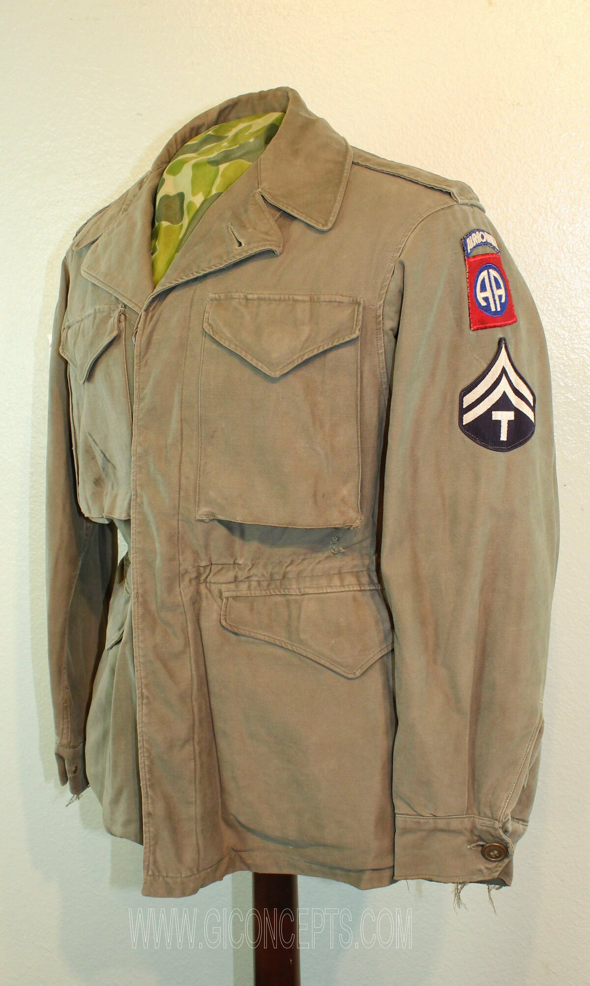 82nd Airborne T-5 M43 Jacket