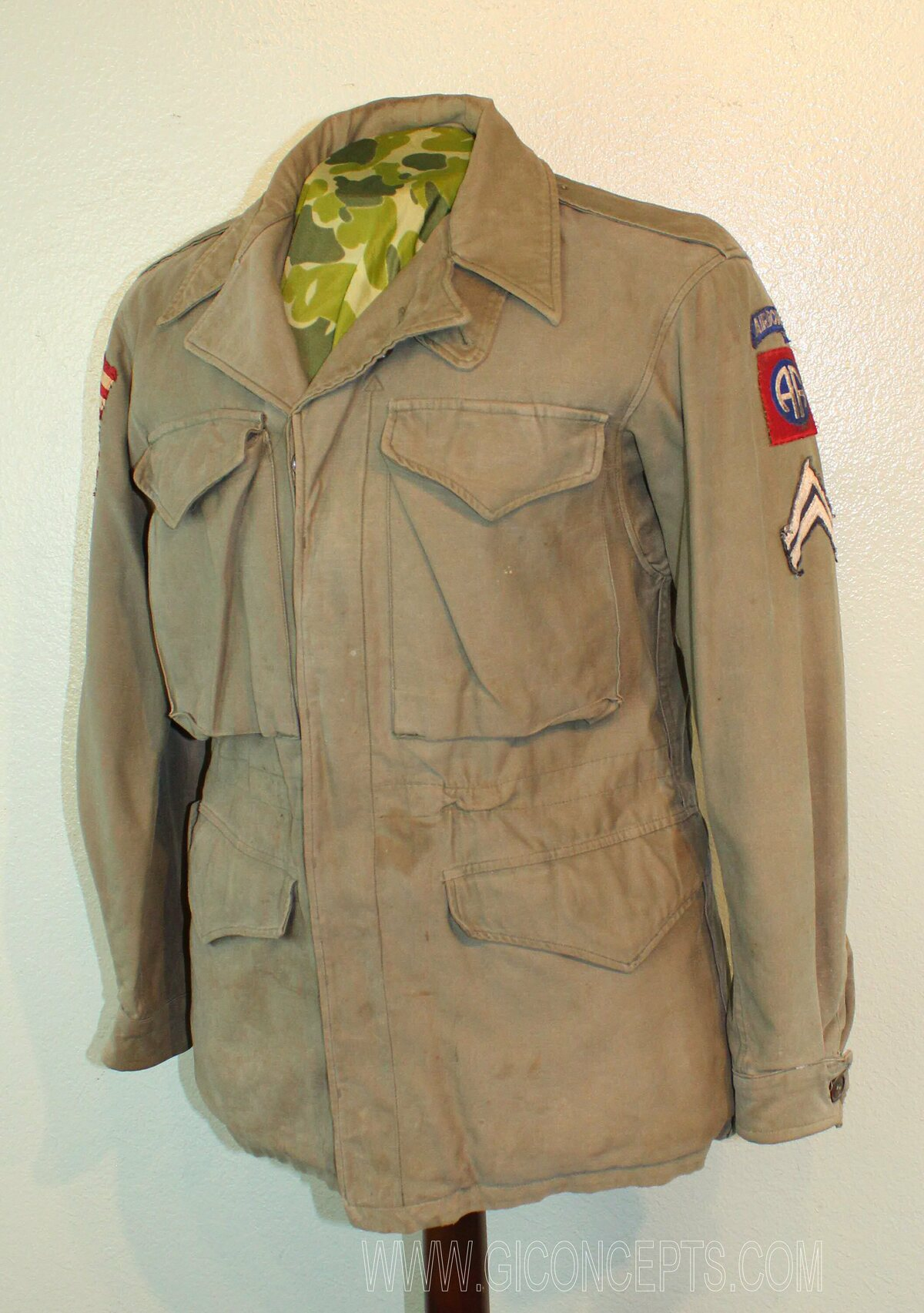 82nd Airborne M43 Jacket