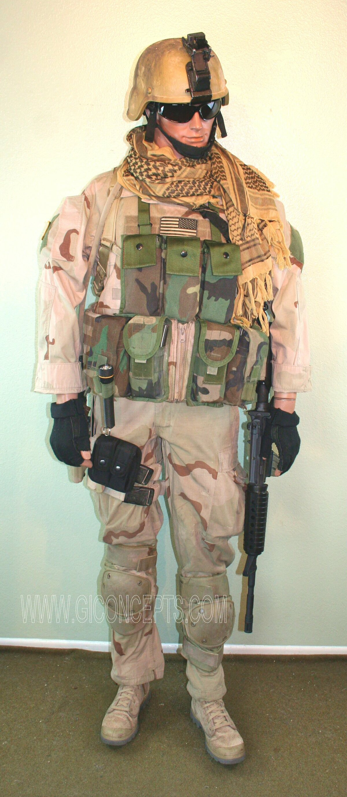 US Army Special Forces North-West Pakistan 2004