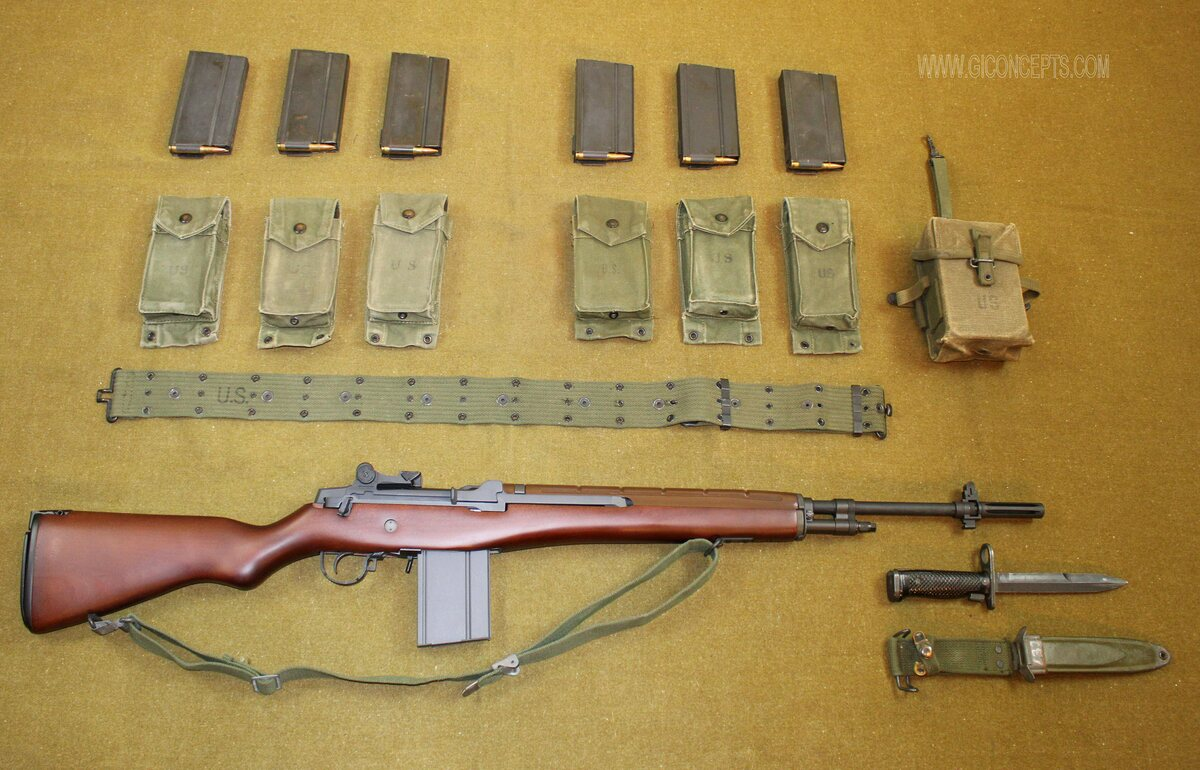M-14 Rifle and Accessories