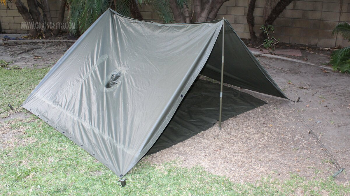 Cold War Poncho Shelter